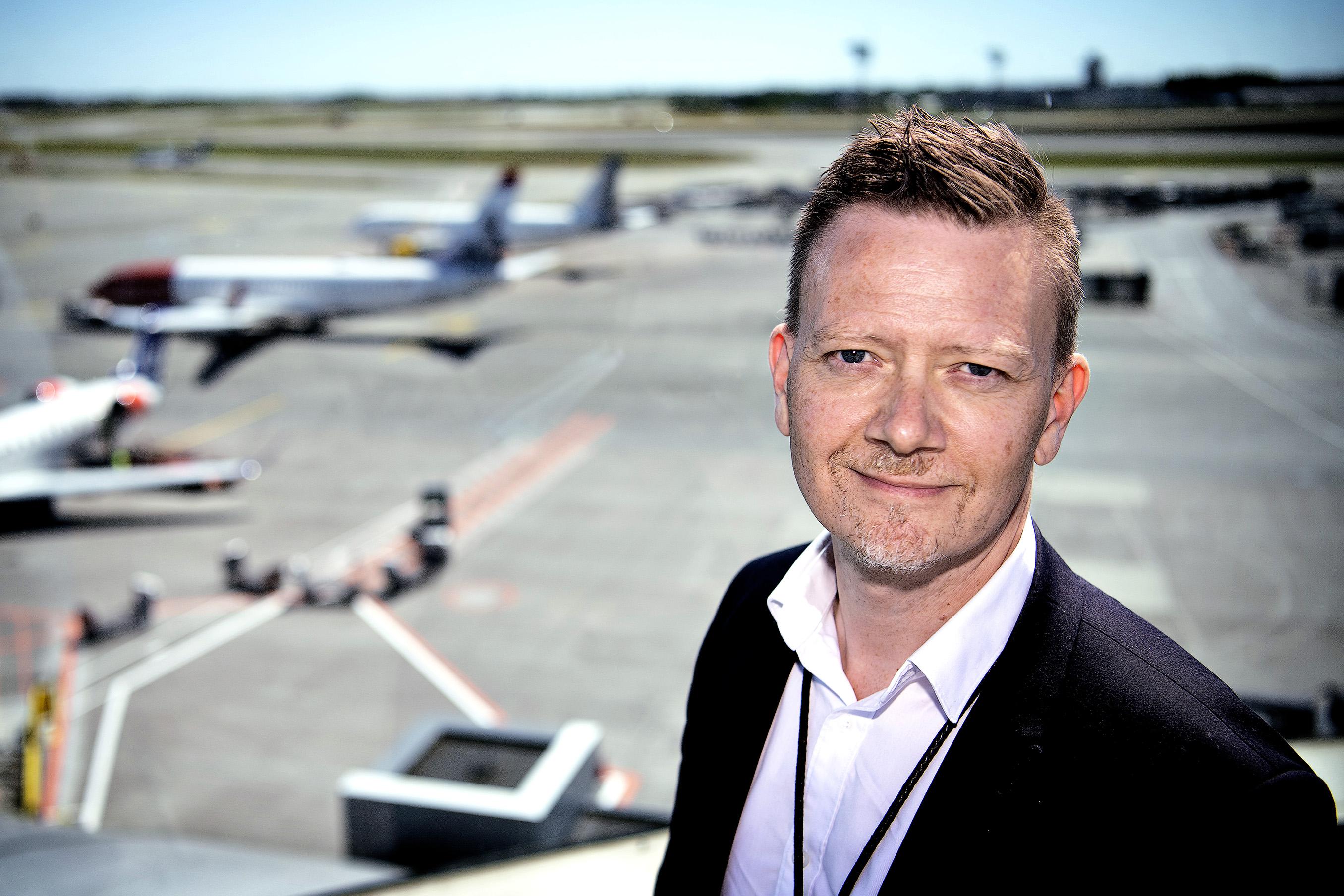 Thomas Thessen, Chief Traffic Forecaster i Københavns Lufthavn. (Foto: CPH)
