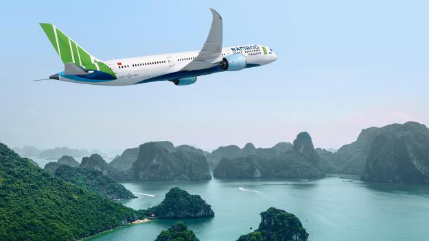 Det vietnamesiske startup-flyselskab Bamboo Airways har købt 20 nye Boeing 787-9 Dreamlinere. Foto: Boeing