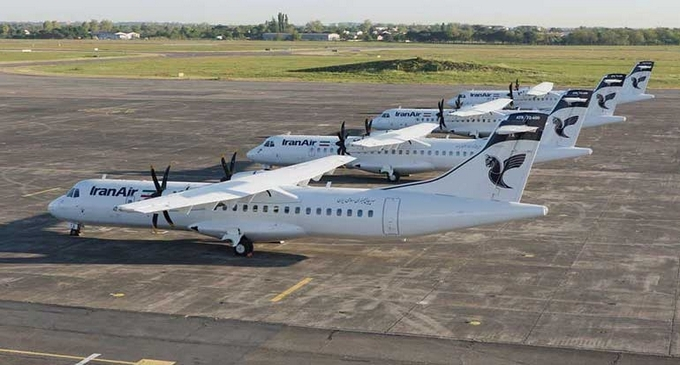 ATR72-600 fly til Iran Air (Foto ATR Aircraft)