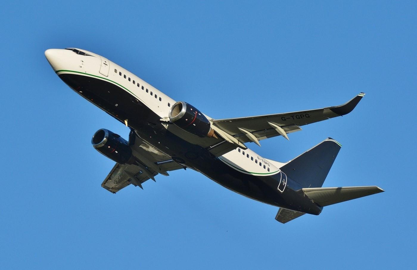 Boeing 737-300 (G-TGPG) fra 2Excel BroadSword. (Foto: Broadswordaviation.com)