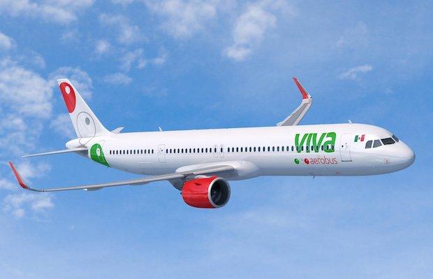 Airbus A321neo i Viva Aerobus bemaling. (Illustration: Airbus)