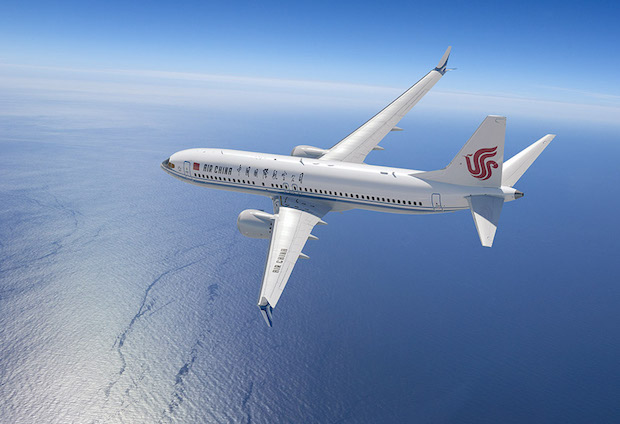 Air China Boeing B737-fly. (Illustration: Boeing)