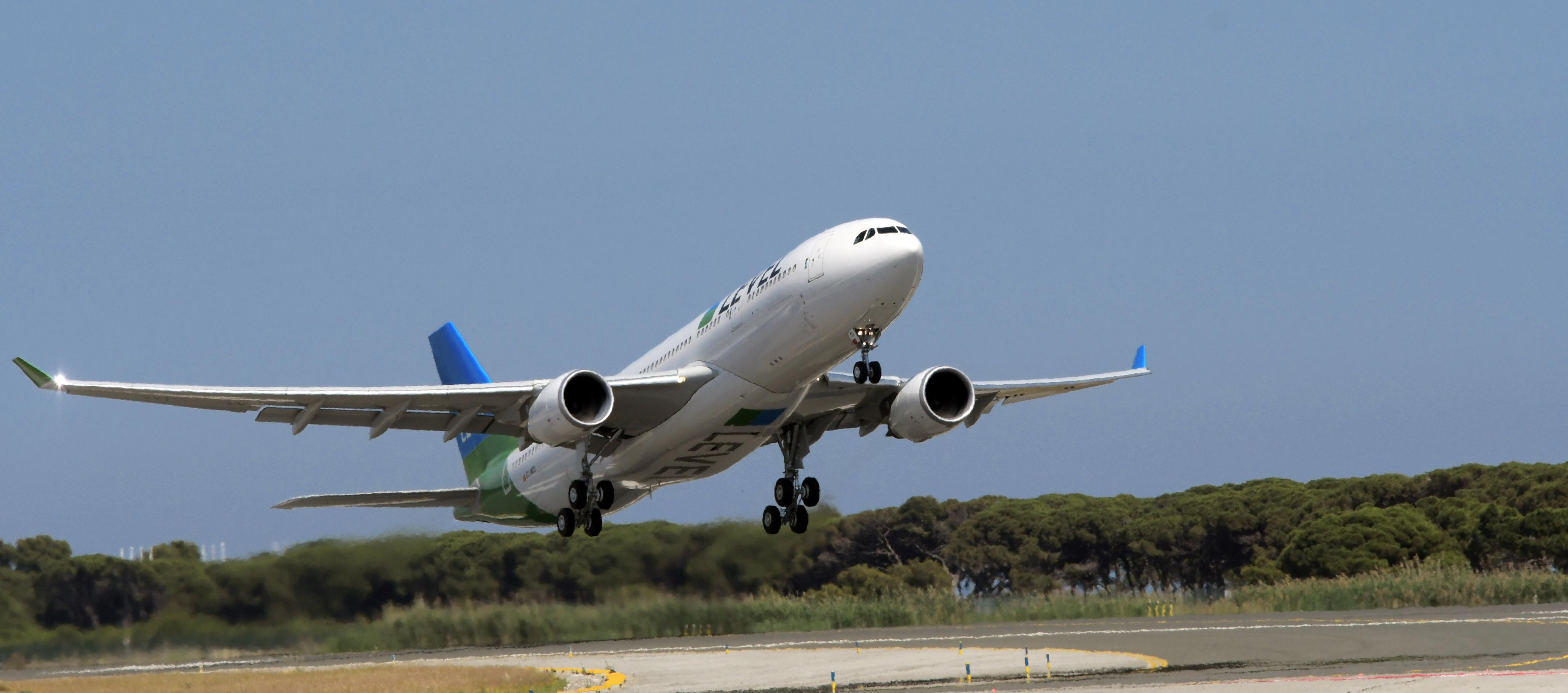 En Airbus A330-200 fra IAG's lavprisflyselskab LEVEL. Foto: LEVEL