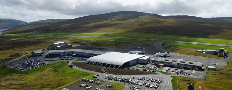 Vagar Lufthavn i Færøerne. Foto: Vagar Lufthavn