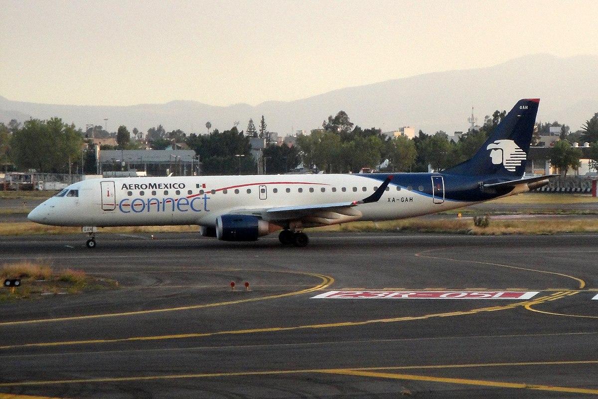Aeroméxico Embraer E190 (Foto: Kambui | CC 2.0)