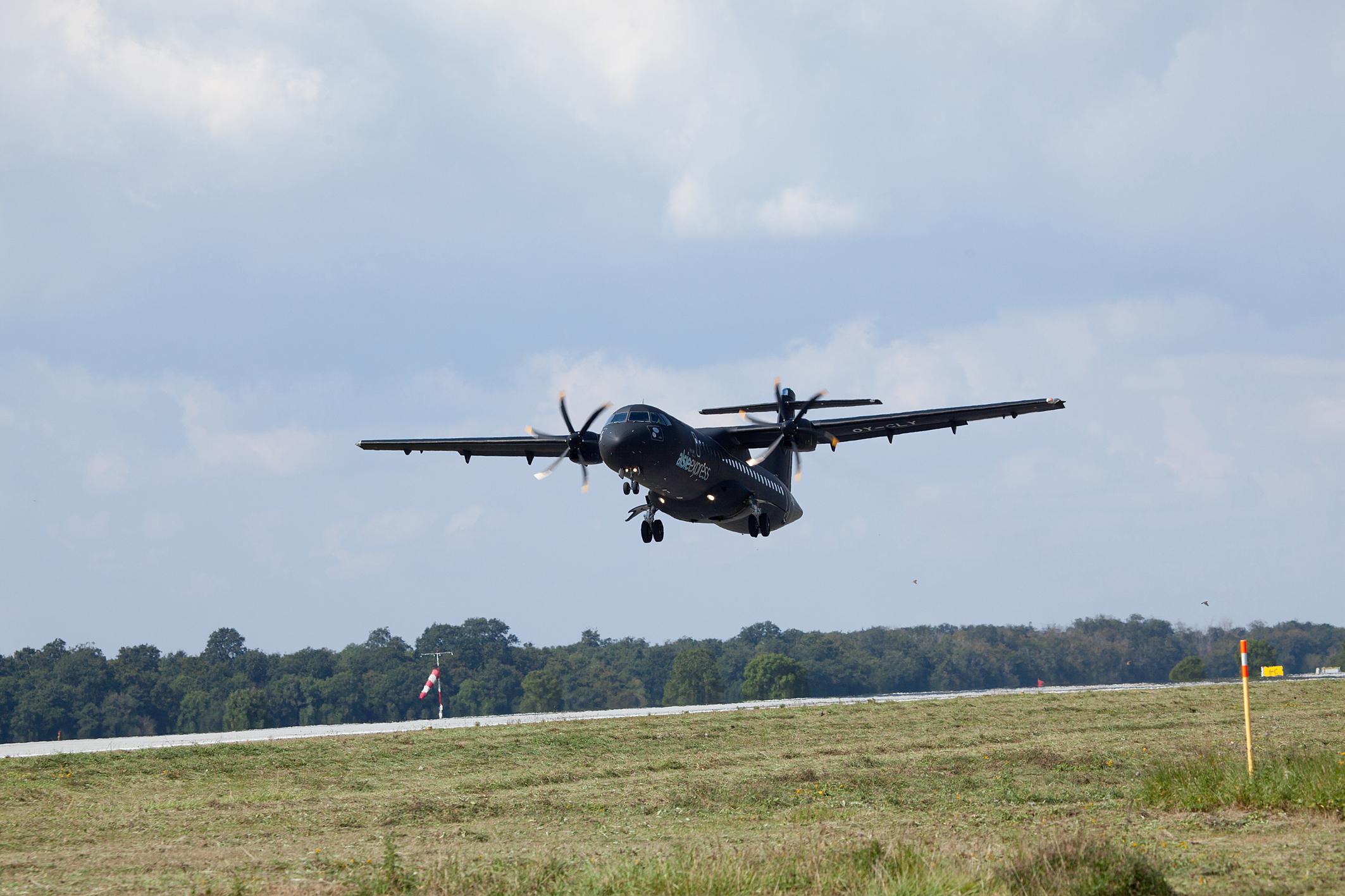 En ATR72-500 fra Alsie Express. Foto: Alsie Express