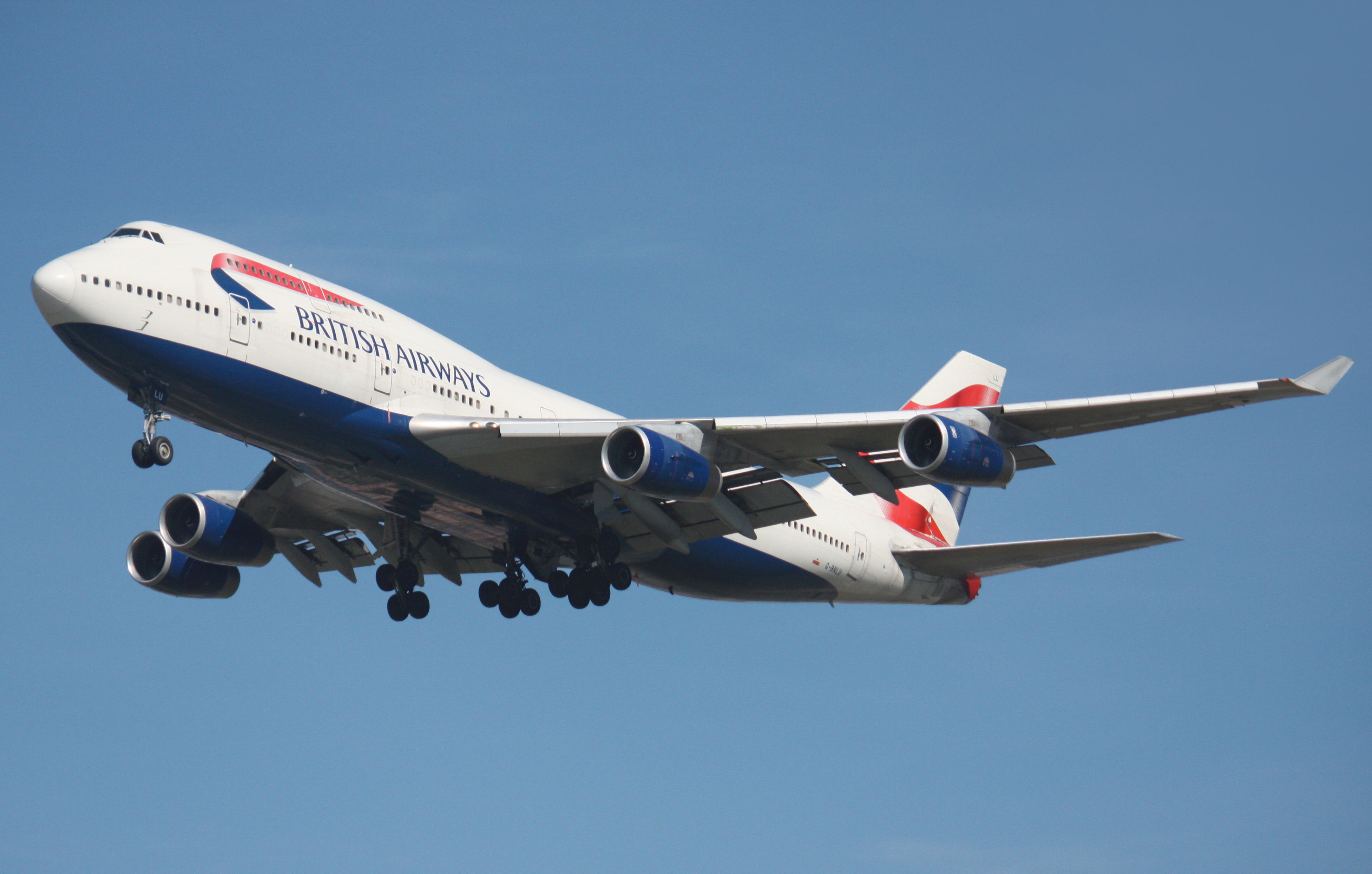 En Boeing 747-400 fra British Airways. Foto: Makaristos