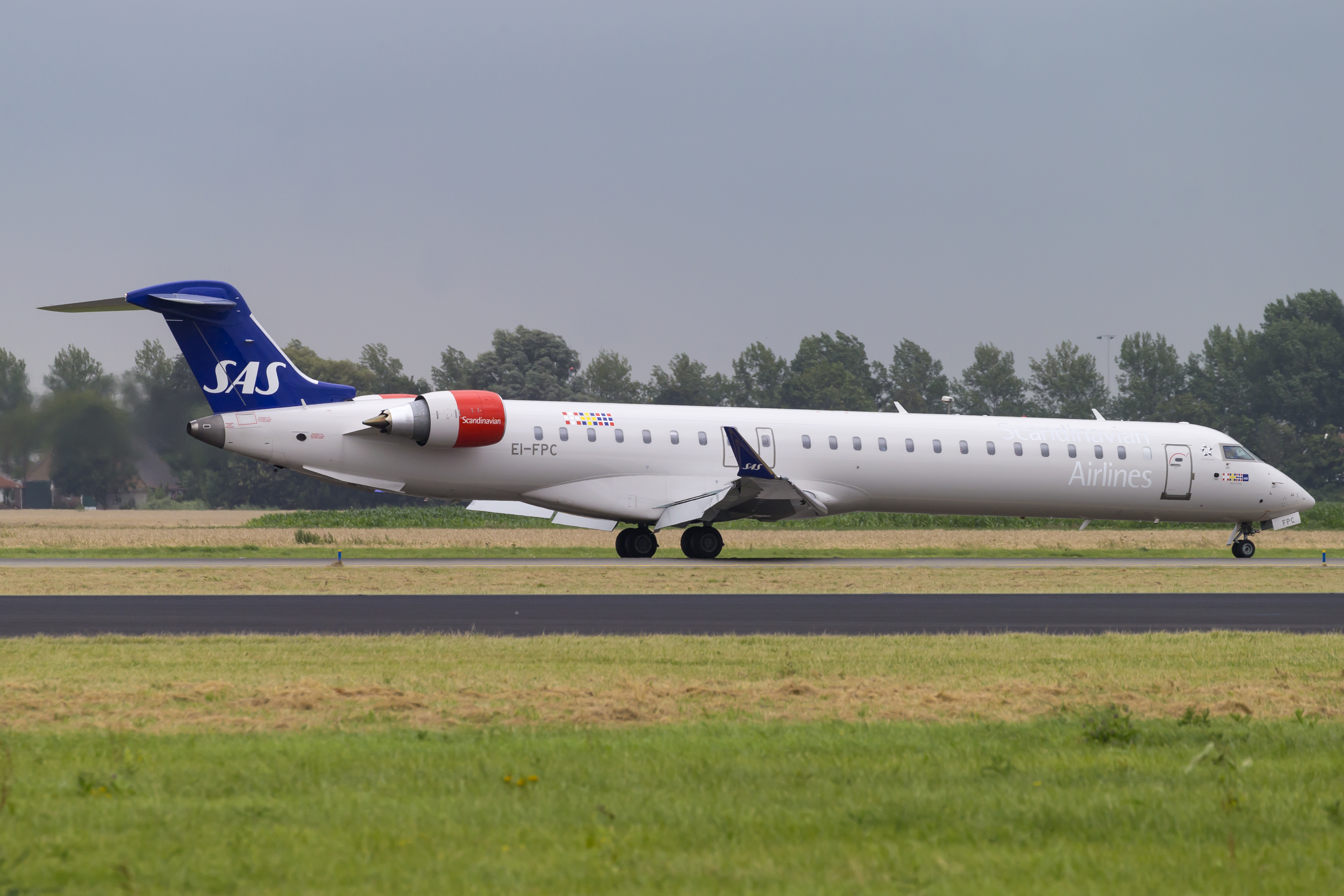 Bombardier CRJ900 fra CityJet (Foto: © Thorbjørn Brunander Sund, Danish Aviation Photo)