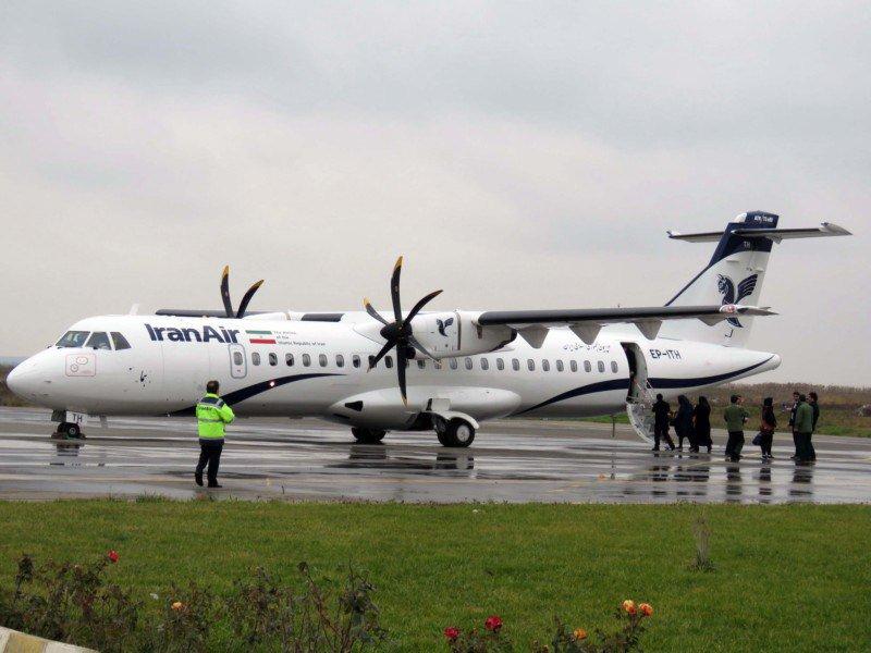 Iran Air har fået leveret fem nye ATR72-fly før de kommende sanktioner mod landet. Foto: Iran Air