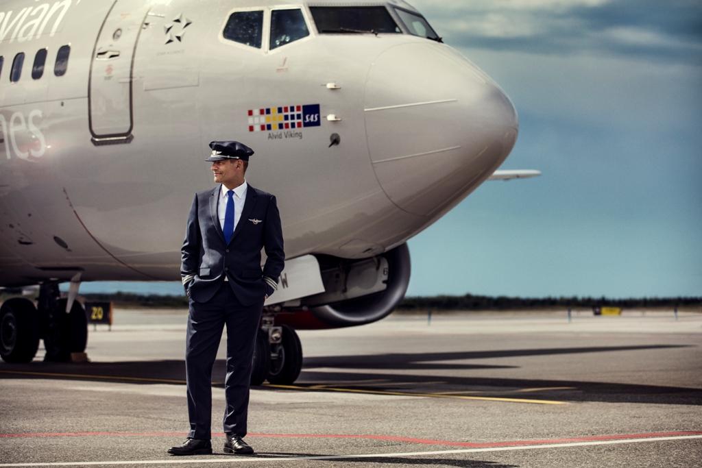 SAS-pilot (Arkivfoto – SAS AB)