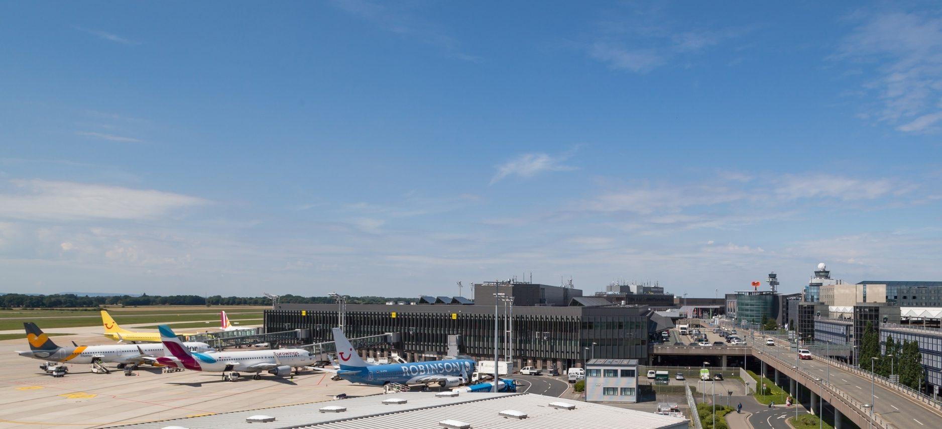 Hannover Lufthavn i det nordlige Tyskland: Foto: Fraport