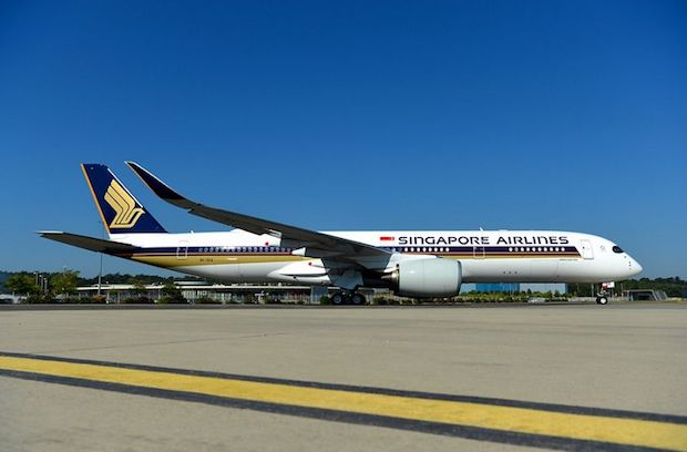 Singapore Airlines første A350-900ULR.