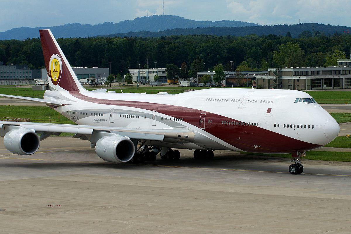 Boeing 747-8 (VQ-BSK), der tilhørte Emiren af Qatar (Foto: BriYYZ | CC 2.0)