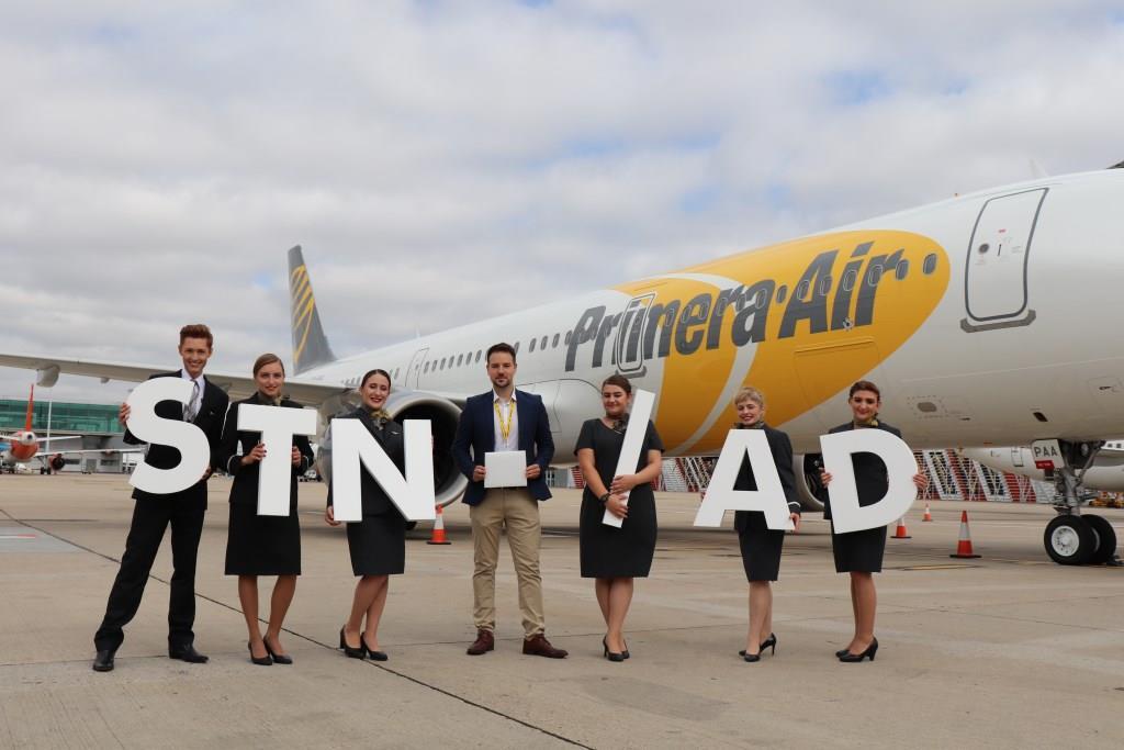 Åbningen af Primera Airs rute fra London-Stansted til Washington D.C. (Foto: London Stansted Airport)