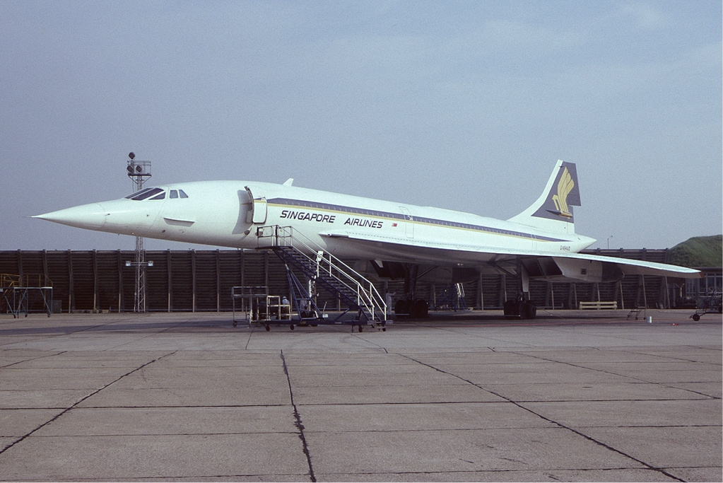 Singapore Airlines-British Airways Concorde G-BOAD. (Foto: Steve Fitzgerald | GNU 1.2)