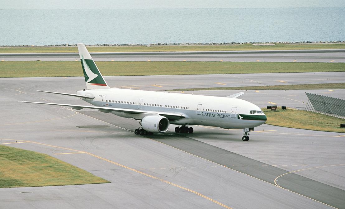 Verdens første Boeing 777 (registrering B-HNL) sendes nu på flymuseum af Cathay Pacific og Boeing. Foto: Cathay Pacific