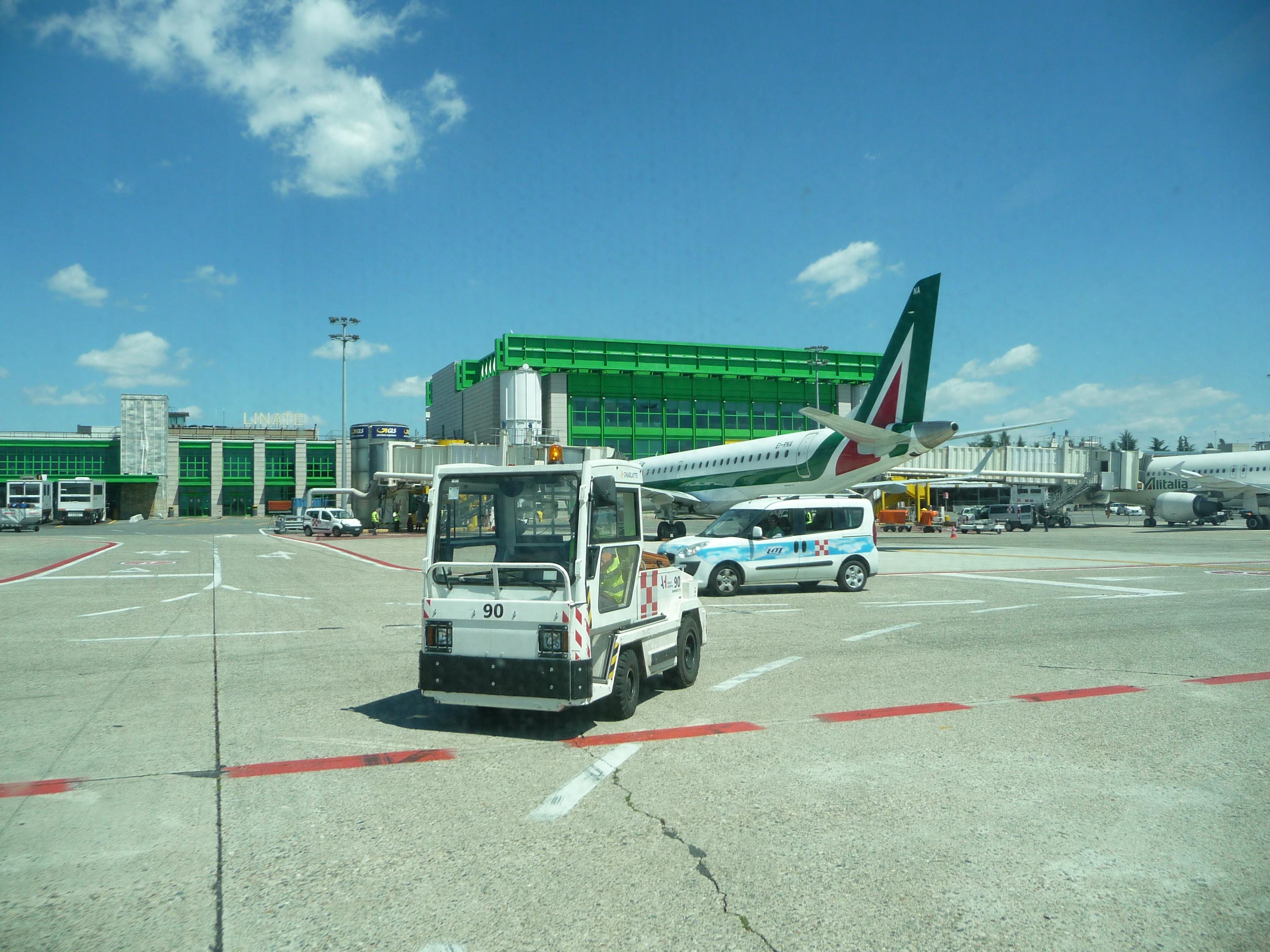 Milano Linate-lufthavnen lukker ned for flytrafik i tre måneder til næste år. Foto: Immanuel Giel