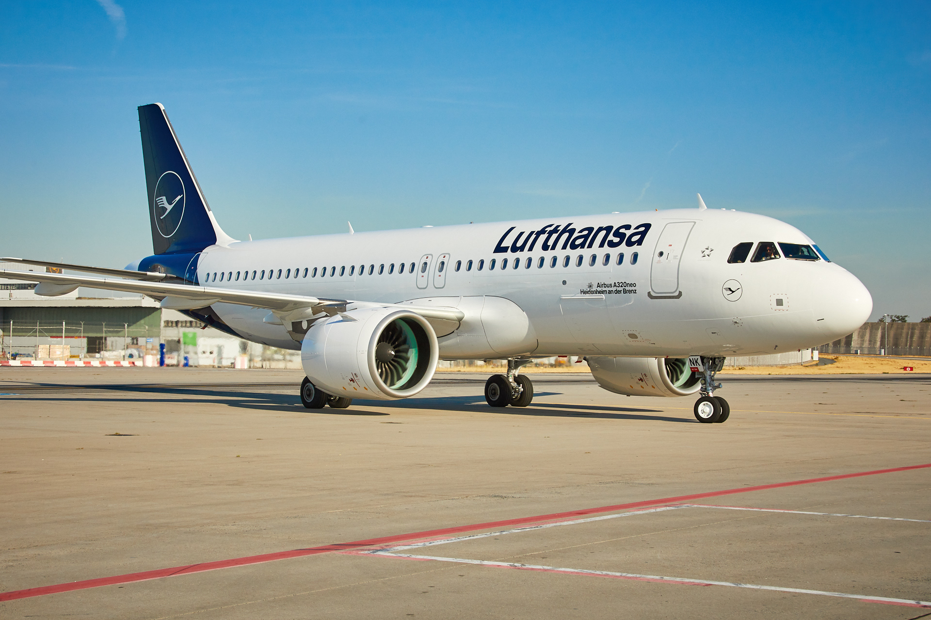En Airbus A320neo fra det tyske flyselskab Lufthansa. Foto: Lufthansa