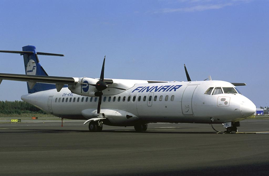 Finnair ATR 72-200. (Arkivfoto: Pertti Sipilä | GNU 1.2)