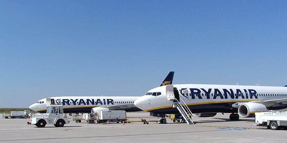 Ryanair.fly i Flughafen Frankfurt-Hahn. (Foto: Wikitrans)