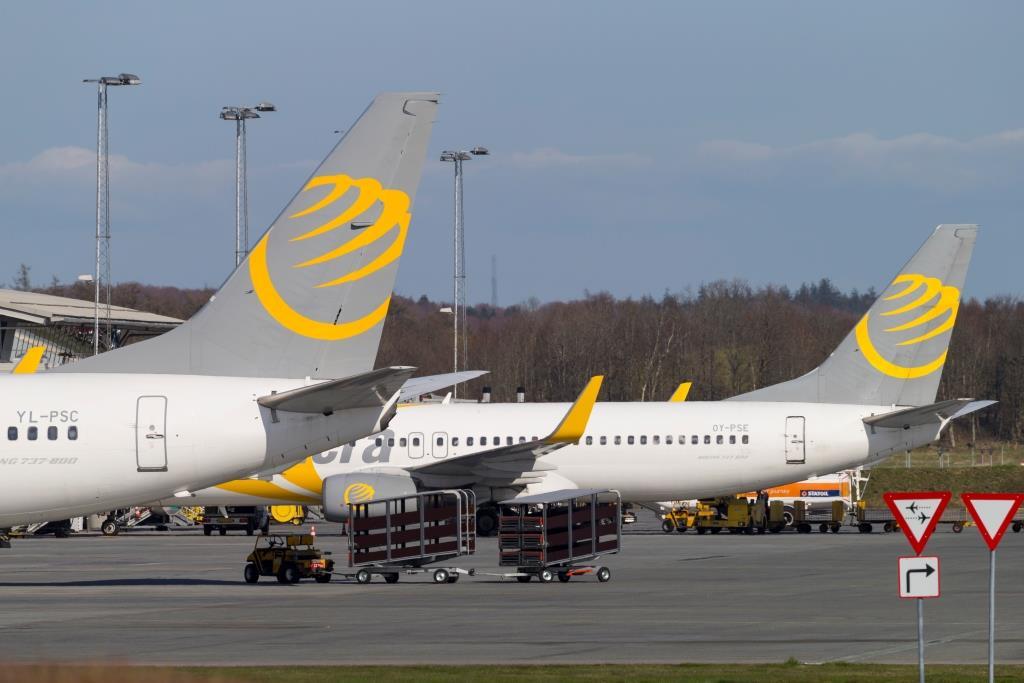 Primera Air-fly i Billund Lufthavn. (Arkivfoto: © Thorbjørn Brunander Sund, Danish Aviation Photo)