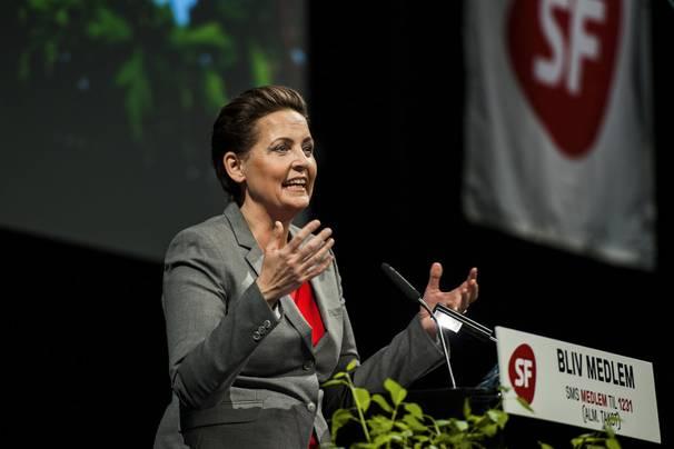 Pia Olsen Dyhr, formand for Socialistisk Folkeparti (Foto: PR/Socialistisk Folkeparti)