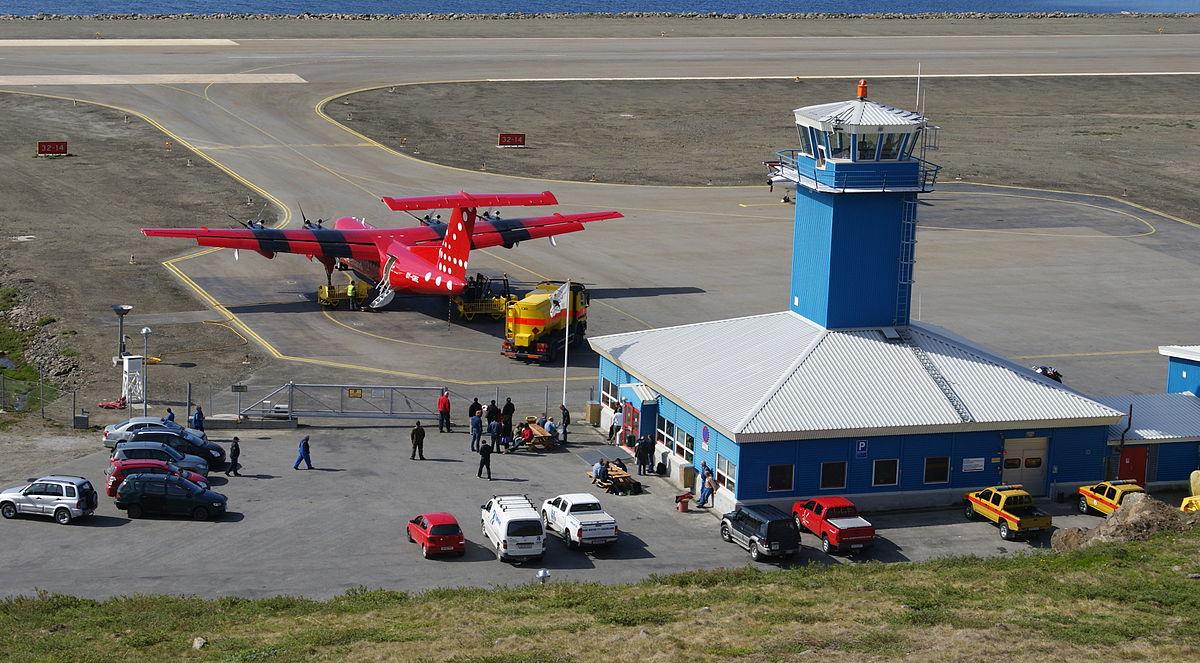 Sisimiut Lufthavn (Foto: Algkalv | CC 3.0)
