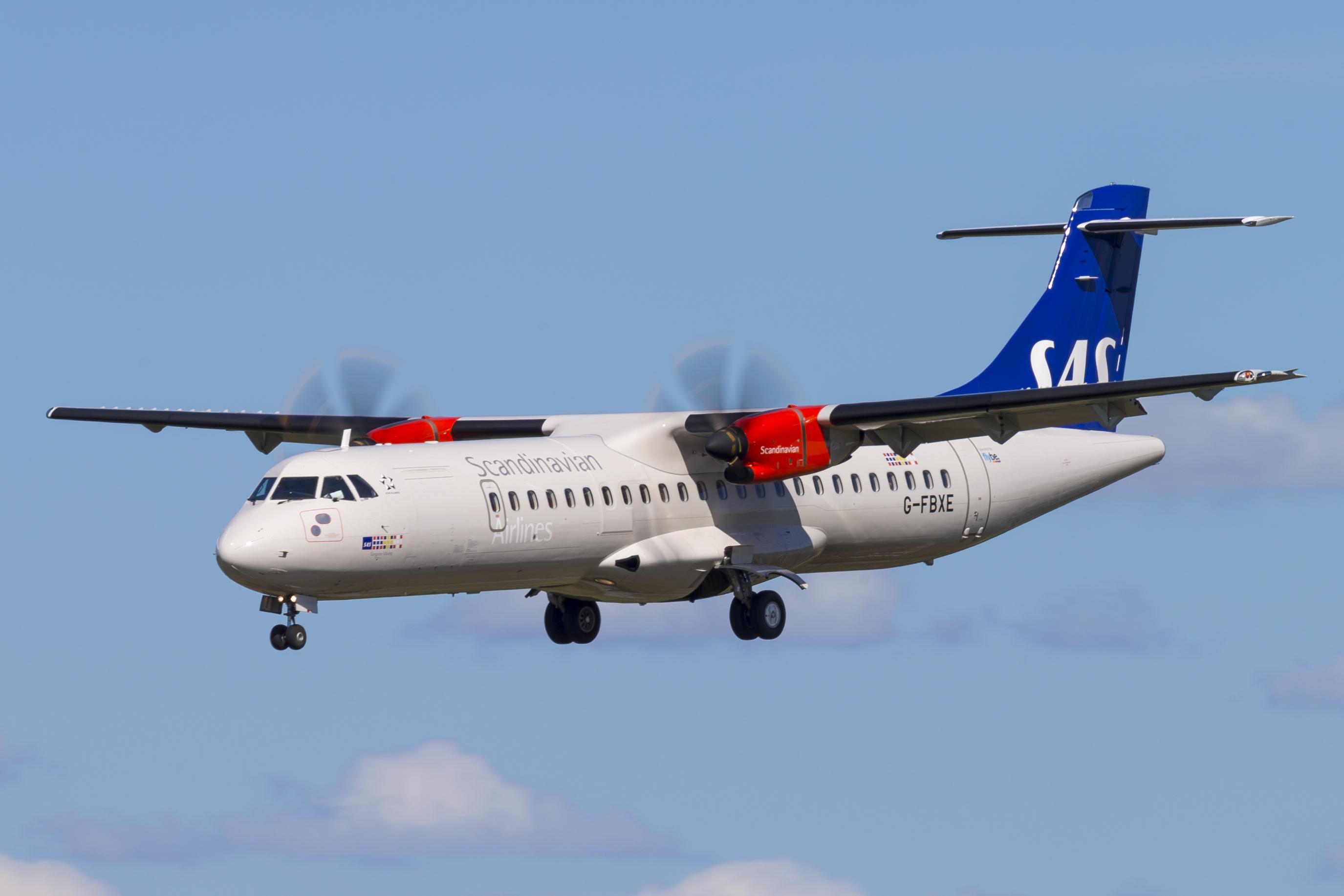 ATR 72-600 fra Flybe opereret på vegne af SAS (Foto: © Thorbjørn Brunander Sund | Danish Aviation Photo)
