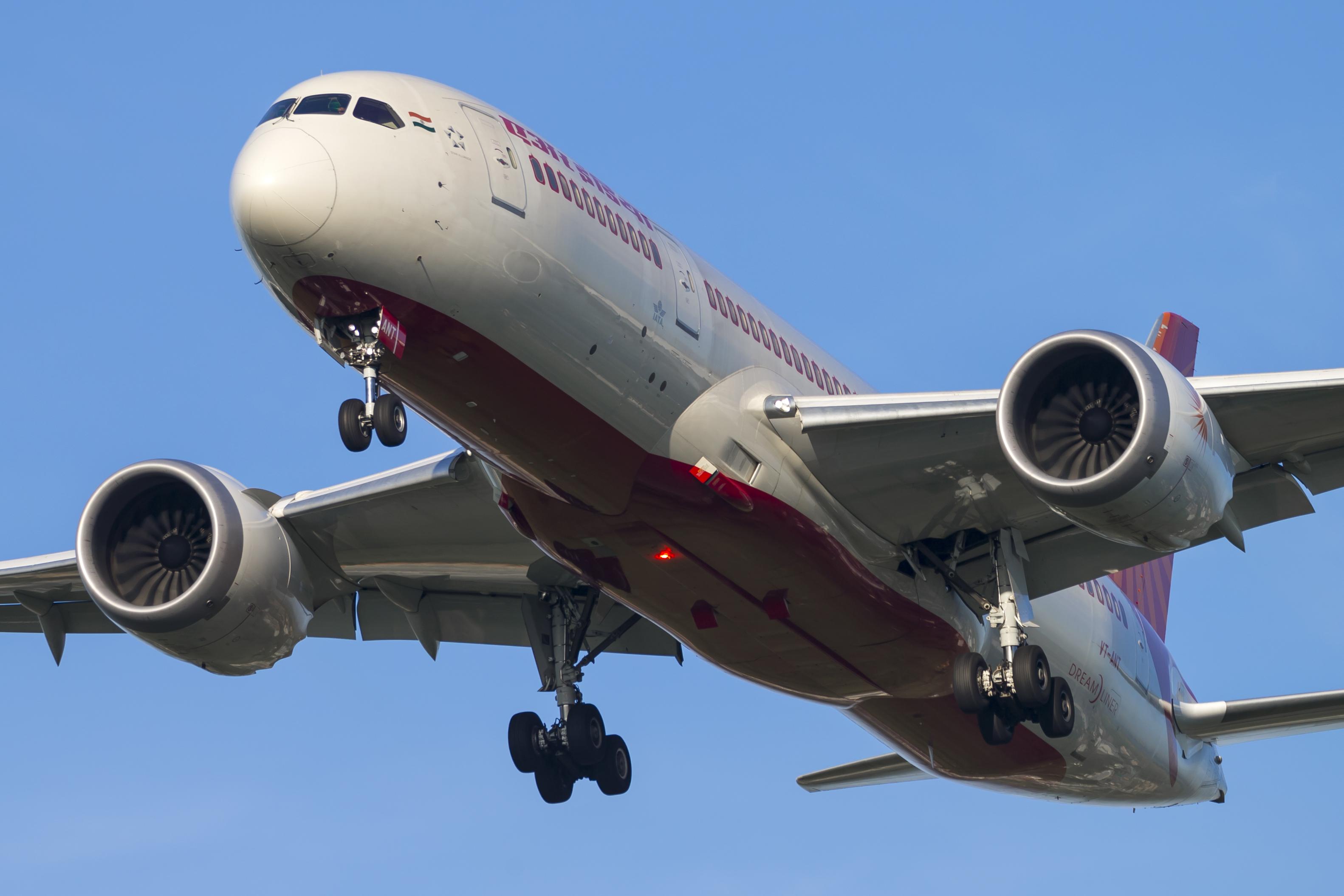 Boeing 787-8 Dreamliner fra Air India (Foto: © Thorbjørn Brunander Sund, Danish Aviation Photo)