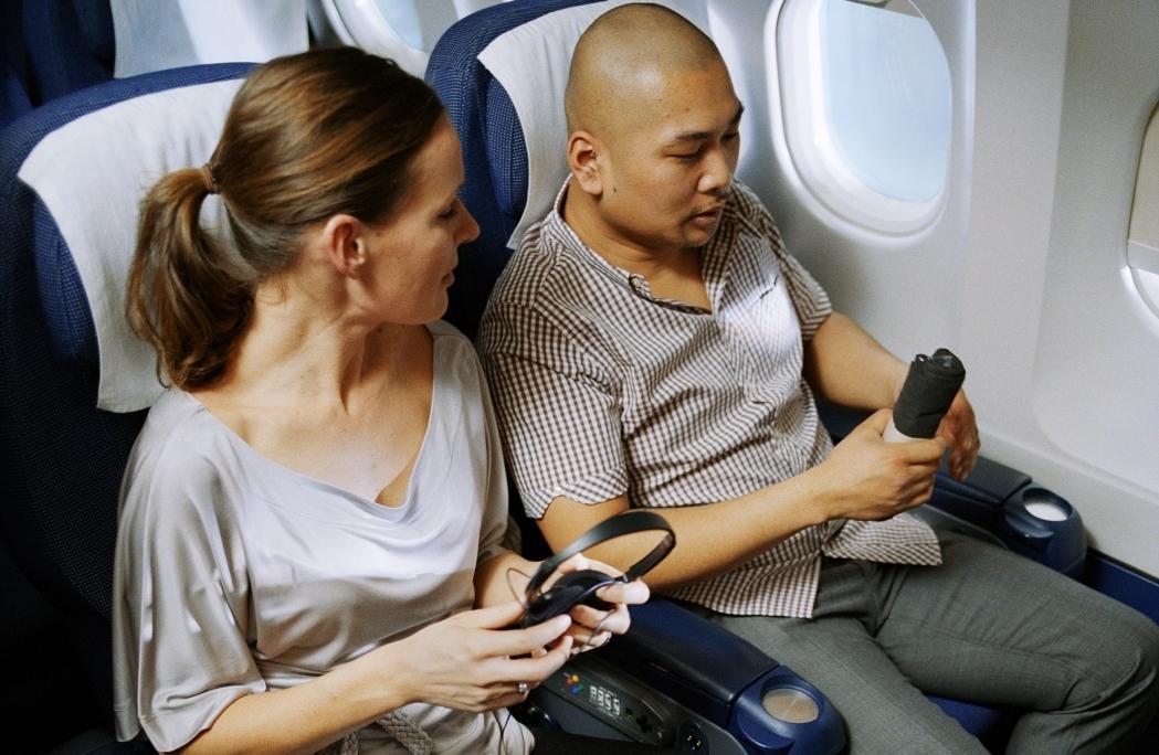 Passagerer i SAS-fly. (Foto: SAS/PR)