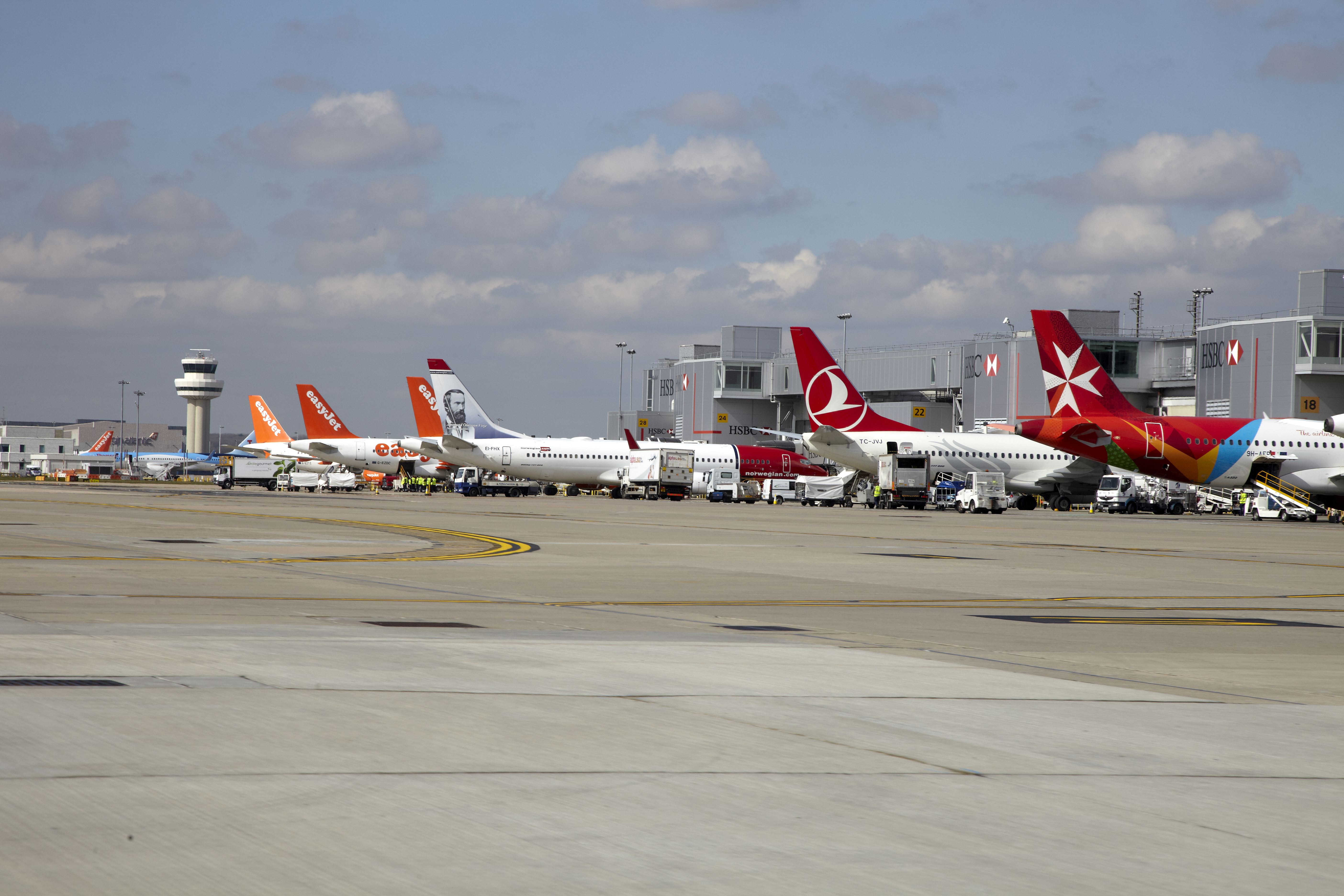 London Gatwick Airport får fremover den franske lufthavnsoperatør VINCI Airports som ejer. Foto: London Gatwick Airport