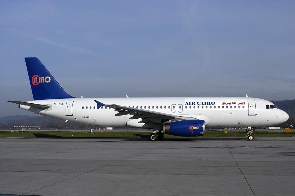 Airbus A320-200 fra Air Cairo. (Foto: Rolf Wallner | GNU 1.2)