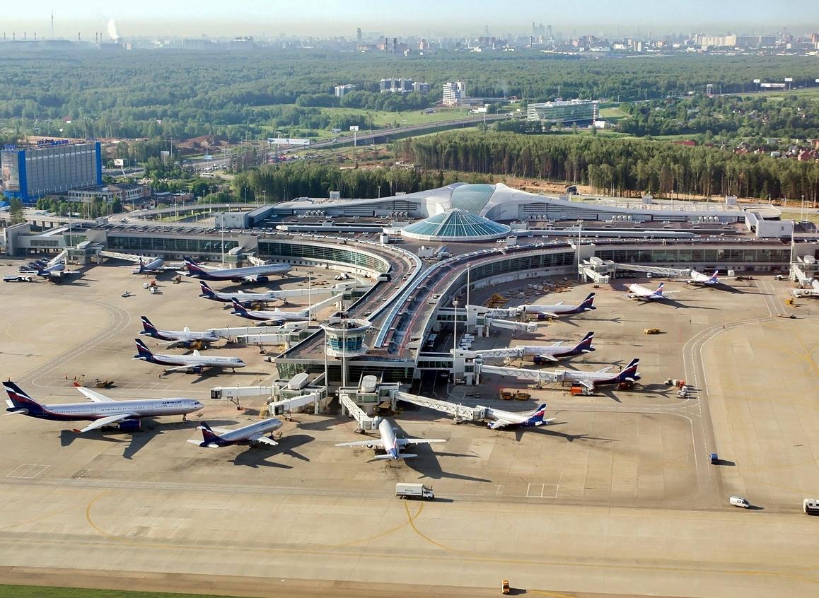 Terminal D i Sheremetyevo International Airport i Moskva. Foto: Alex Beltyukov