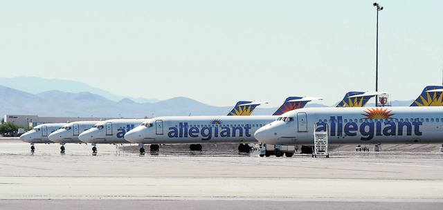 Allegiant Air MD-80´ere. (Arkivfoto: Allegiant Virtual Air/Facebook)