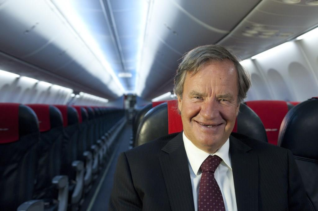 Bjørn Kjos, koncernchef i Norwegian. (Foto: Norwegian/PR)