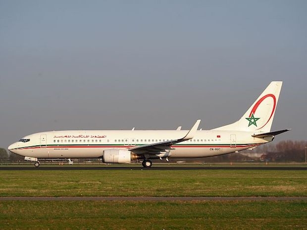 Royal Air Maroc Boeing 737-800. (Foto: Wikimedia Commons)