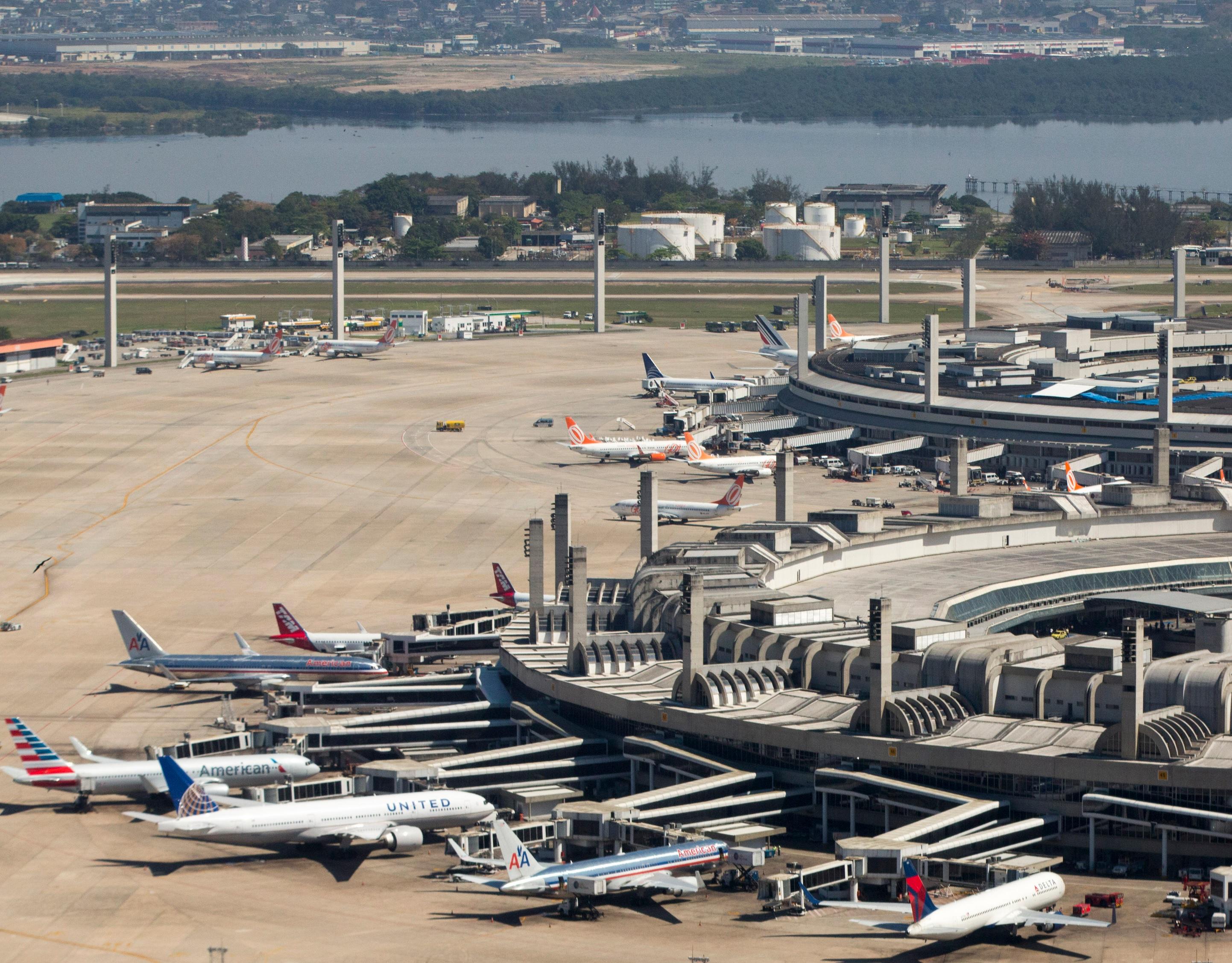 Rio de Janeiro–Galeão International Airport. Foto: Daniel Basil