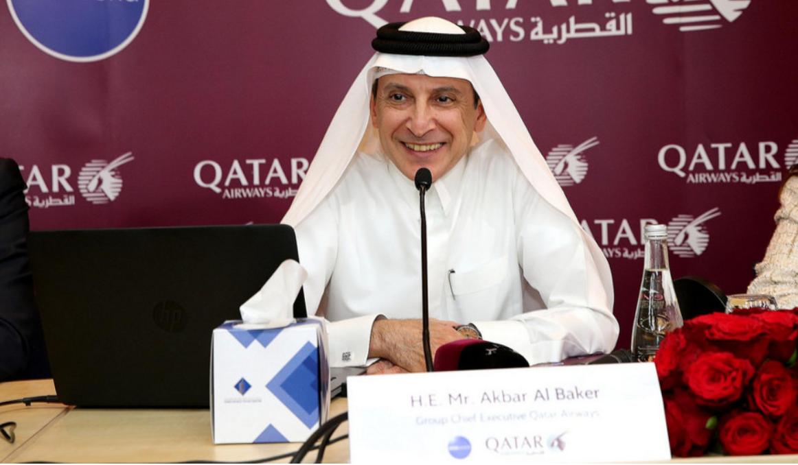 Akbar Al Baker, koncernchef hos Qatar Airways. (Foto: Welcome Qatar/PR)