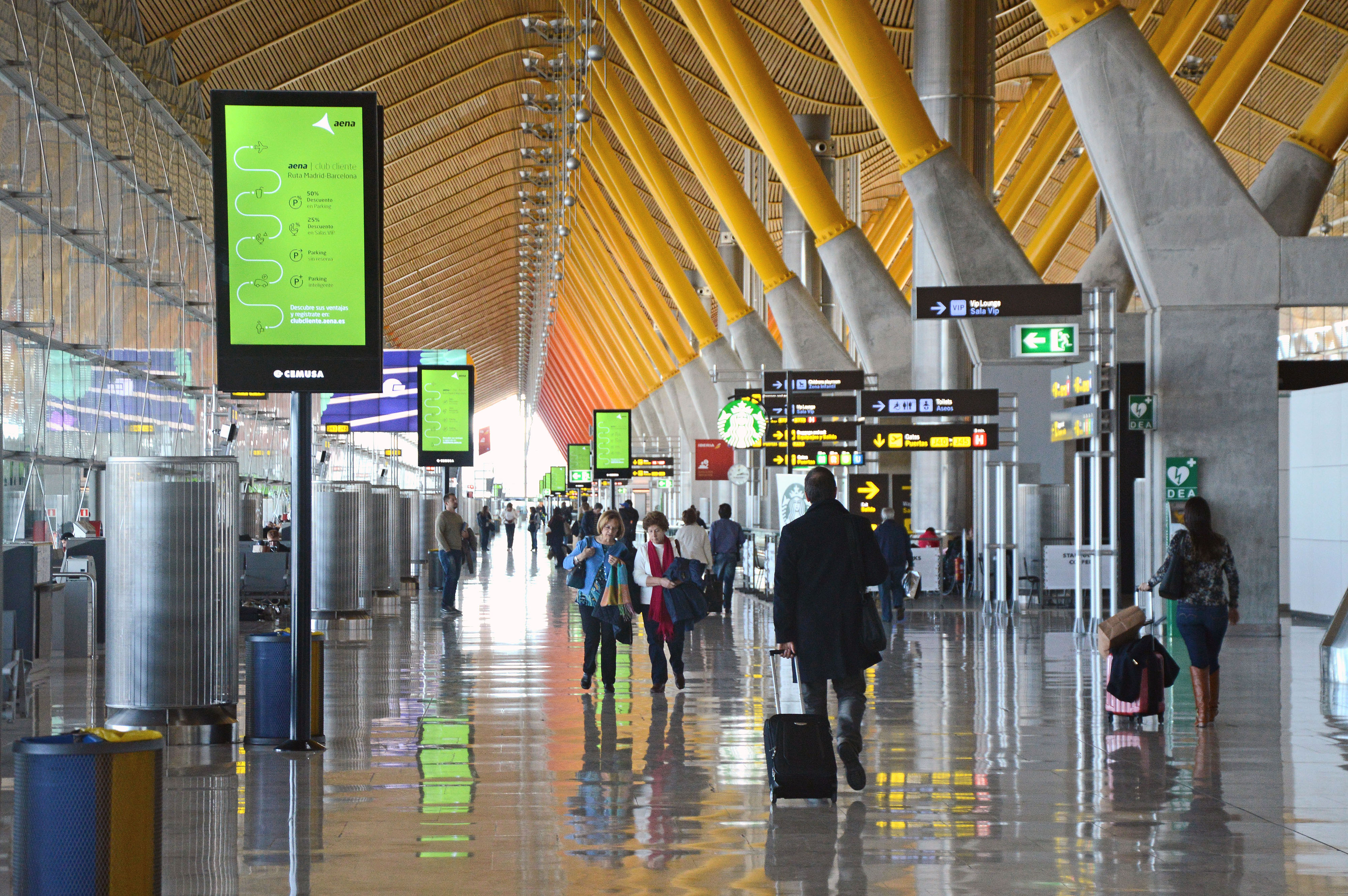 Terminal T4 i Adolfo Suárez Madrid-Barajas Airport (Foto: AENA/PR)