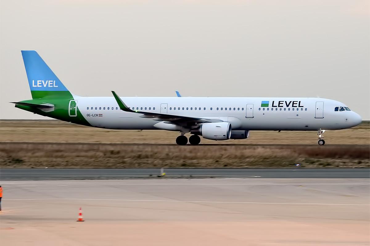 LEVEL A321-200 fra Anisec Luftfahrt. (Foto: Anna Zvereva   CC 2.0)