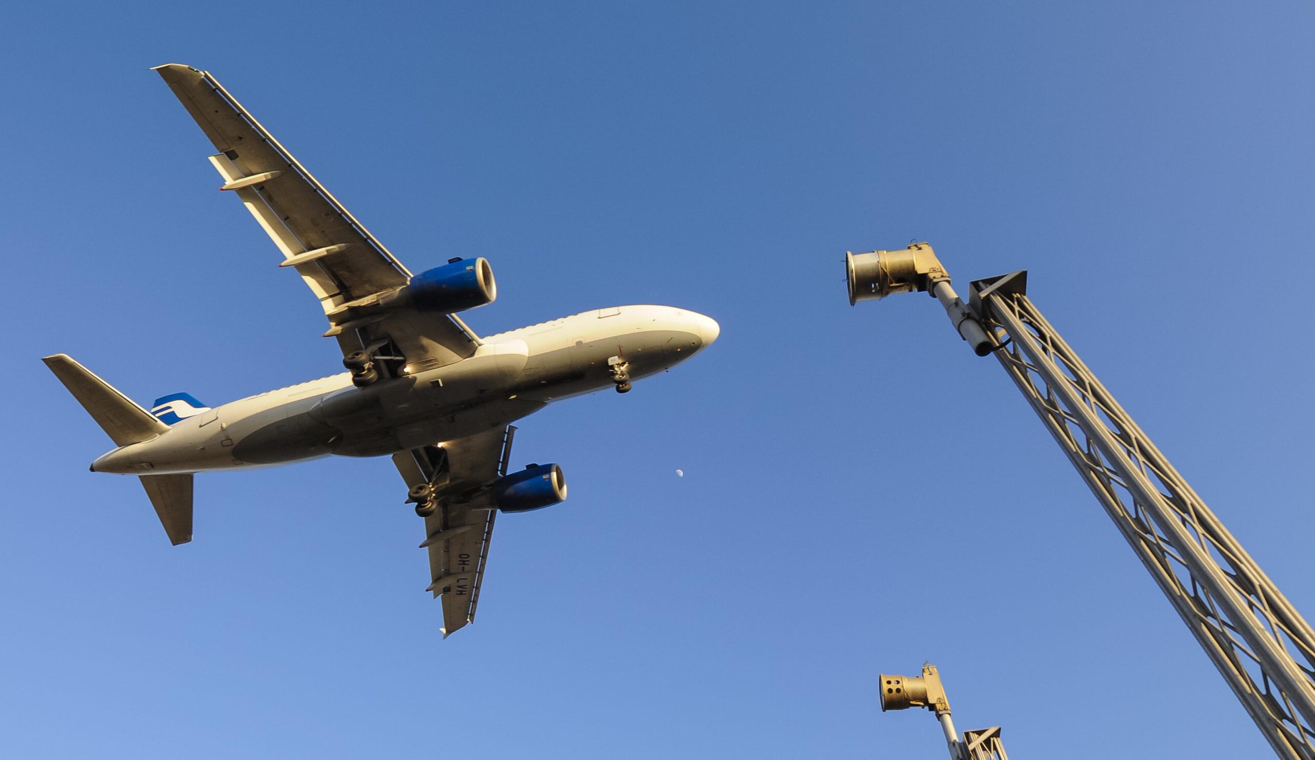 Finnair giver nu mulighed for, at kunderne kan kompensere for deres CO2-udslip til atmosfæren. Her en Airbus A319 fra Finnair. (Foto: © Thorbjørn Brunander Sund, Danish Aviation Photo)