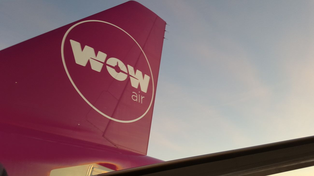 WOW air. (Foto: Andrew D´Amours)