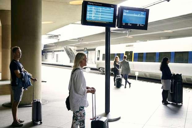 Den nuværende togstation i Københavns Lufthavn. (Foto: CPH)