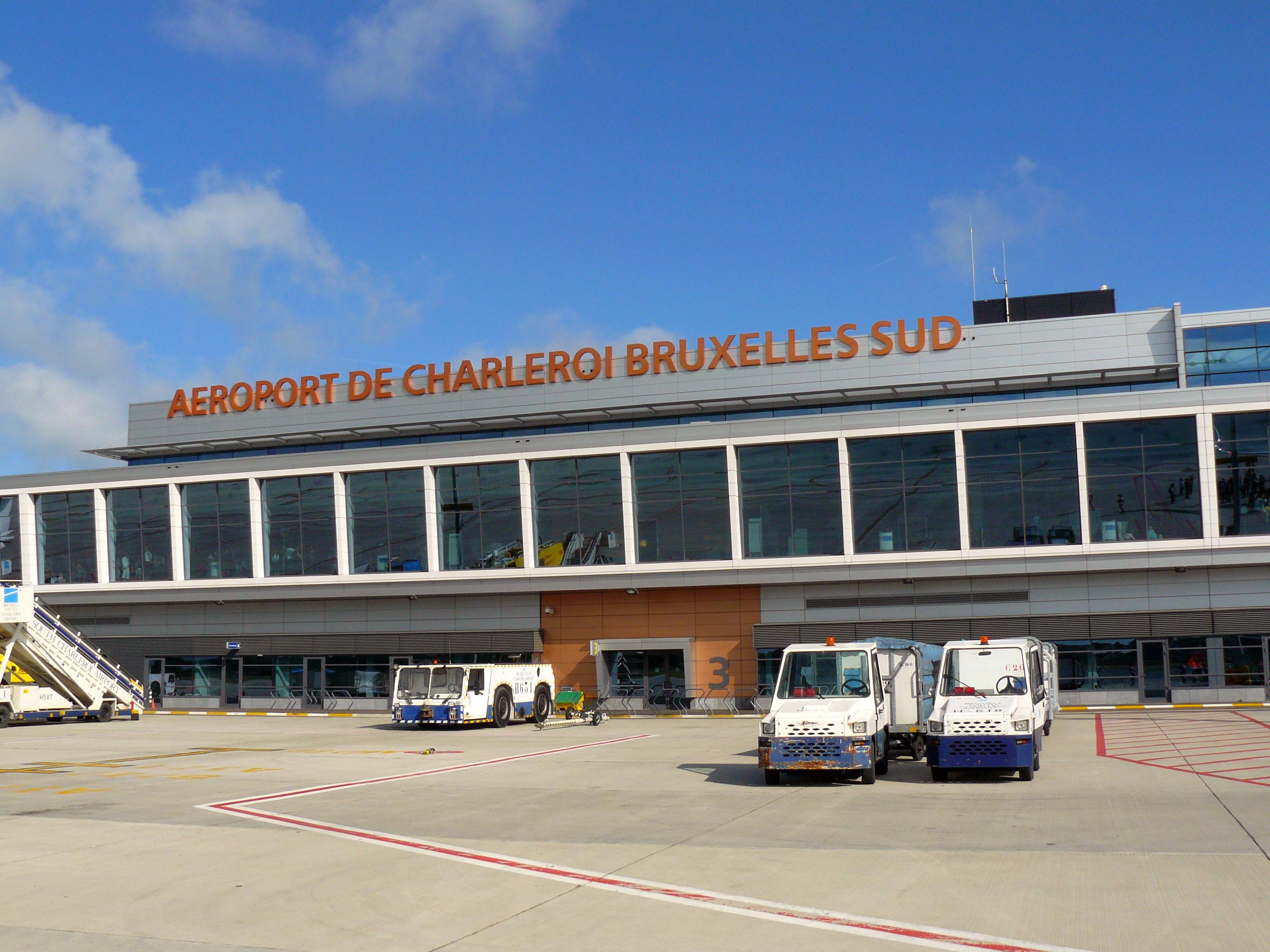 Charleroi-lufthavnen i Bruxelles lukker onsdag for trafik på grund af en generalstrejke. Foto: Fernandopascullo