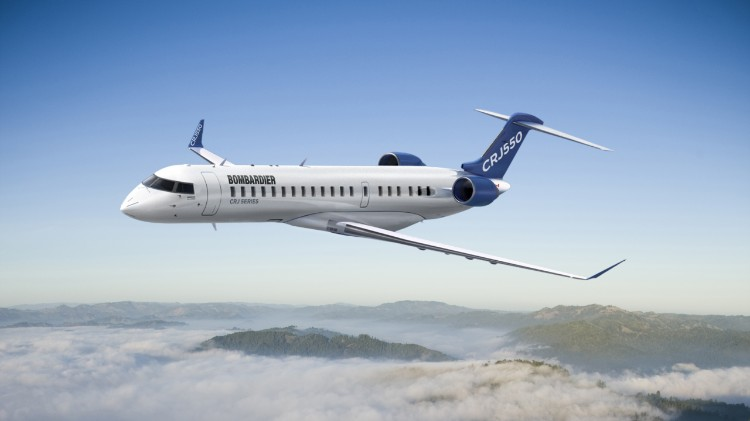 Bombardier CRJ550 (Foto: Bombardier Aerospace)